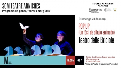 POP UP en Teatre Arniches