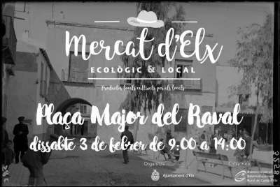 Mercadillo Ecologico en la Plaza de Mayor del Raval